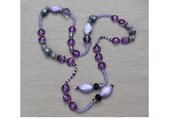 45 lariat /necklace/ or belt in shades of by imibalainspirations, $28