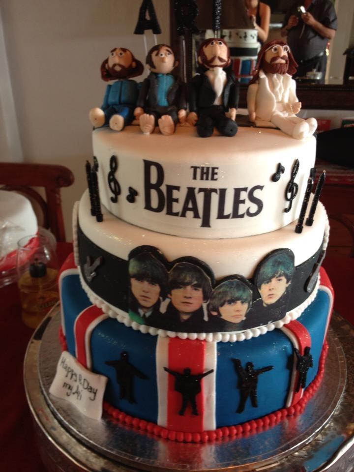 the beatles cake