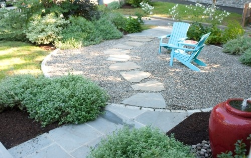 Pea Gravel Landscaping Ideas : wwwhouzzcomlandscapingpeagravel  Backyard Inspiration  Pintere