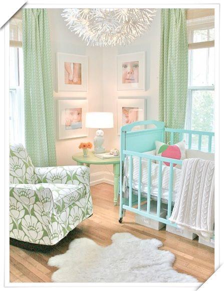 Decorar Habitaciones Vintage ~ Para bebes verde menta  Renovation Board  Pinterest