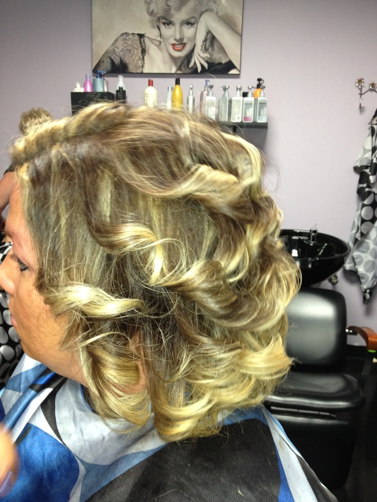 ... hair ombré highlights | Hairstyles/Updo's/Ombres/Color & Cuts