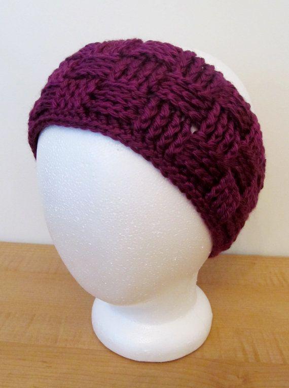 Crochet Ear Warmer : Crochet basketweave ear warmers women ready to by Crochetlovebug, $14 ...