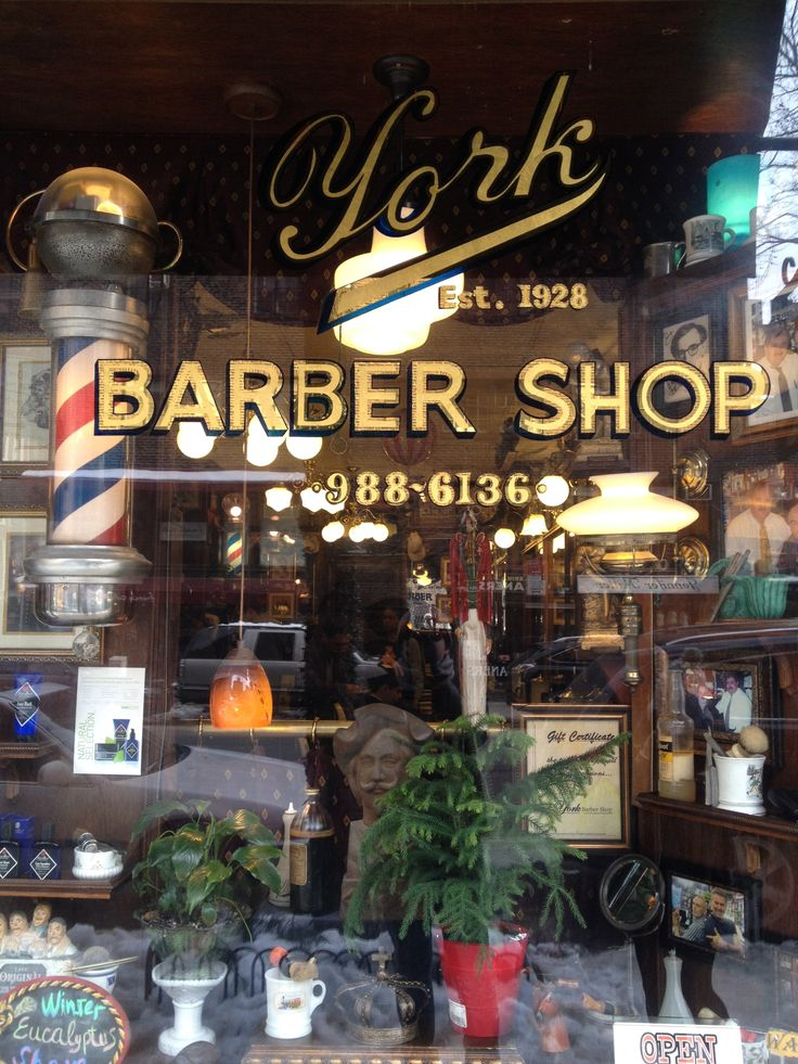 new york type barber shop Razor & Co Pinterest