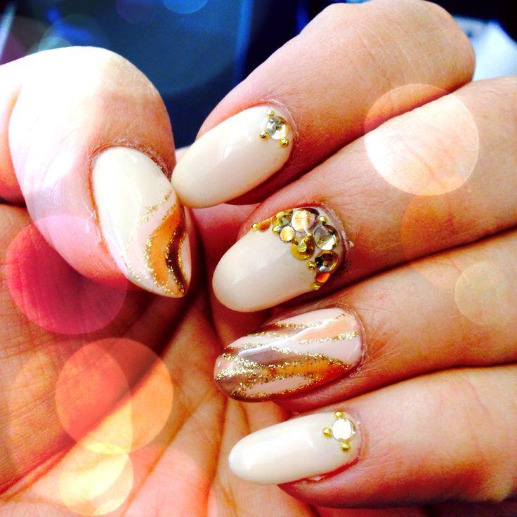 nude color nail art pinterest