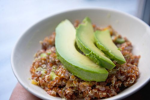 Black Quinoa Salad With Mango, Avocado, & Tomatoes Recipes ...