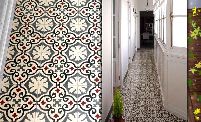 mosaic del sur baldosas hidr ulicas carreaux ciment. Black Bedroom Furniture Sets. Home Design Ideas