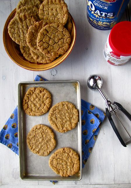 Biscoff Oatmeal Cookies recipe with Biscoff Cookie Spread for a new ...