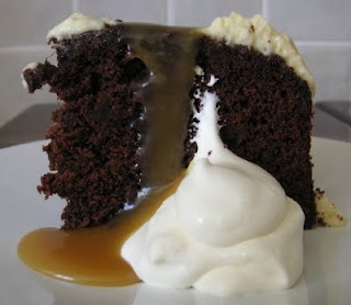 Chocolate sticky toffee pudding cake | Can I Say Yummy?!!! | Pinterest