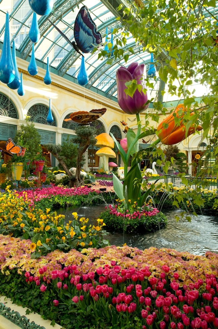 Bellagio Botanical Gardens Las Vegas Places Id Love To