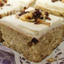 Banana slices with cream cheese icing @ allrecipes.co.uk
