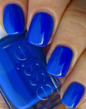 ESSIE NAIL POLISH NEON 2013 COLLECTION: VIVID BLUE (3013 BOUNCER IT'S ME)