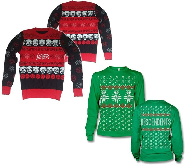 Although they  re not shirts, per se, these Christmas sweaters were