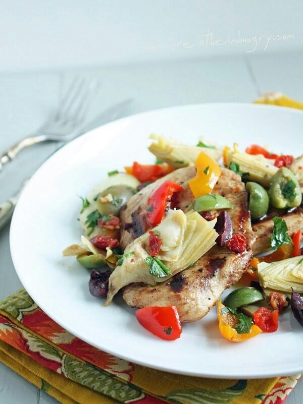 Mediterranean chicken | Food | Pinterest