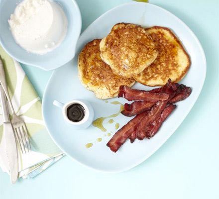 Ricotta hotcakes | Food Glorious Food | Pinterest