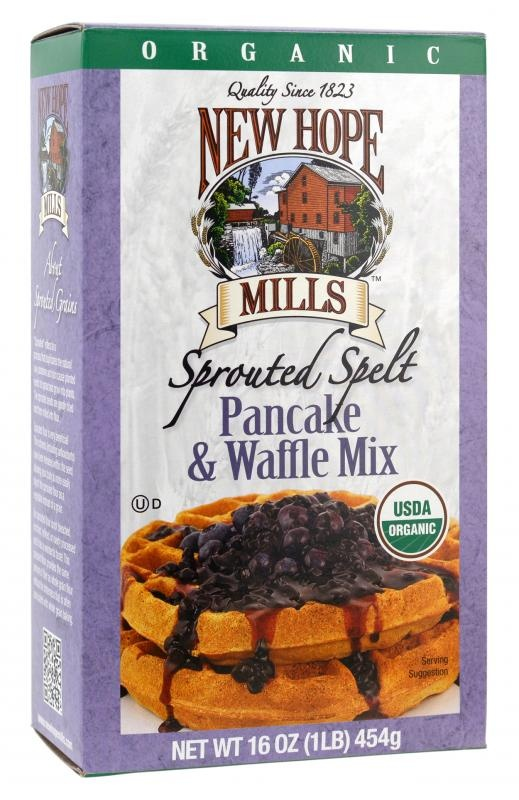 Organic Sprouted Spelt Pancake & Waffle Mix. Delicious and nutritious!