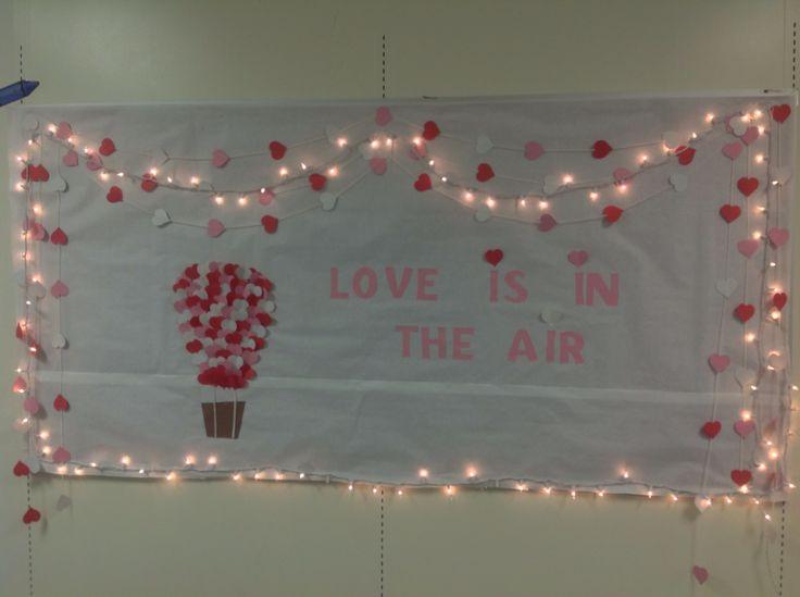 Valentines Day bulletin board! (: | bulletin boards | Pinterest
