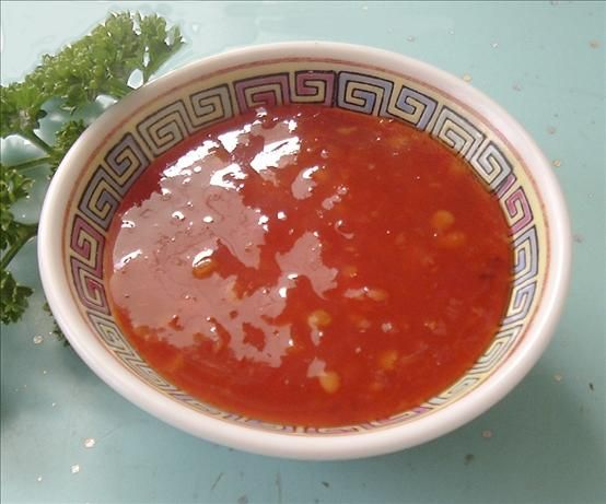 Thai Sweet Chili Dipping Sauce for Coconut Chicken