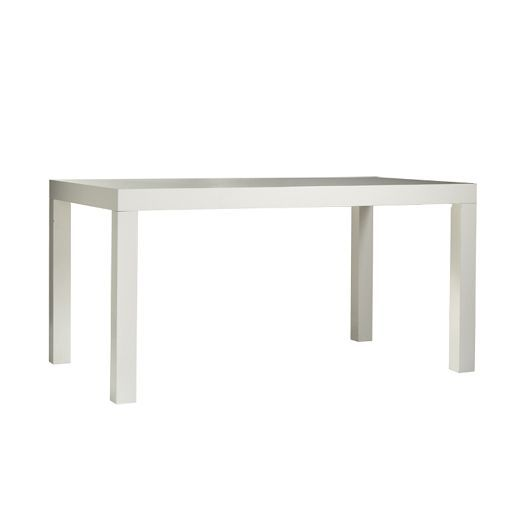 Table For Family Room Area Parsons Dining Table Rectangle West Elm
