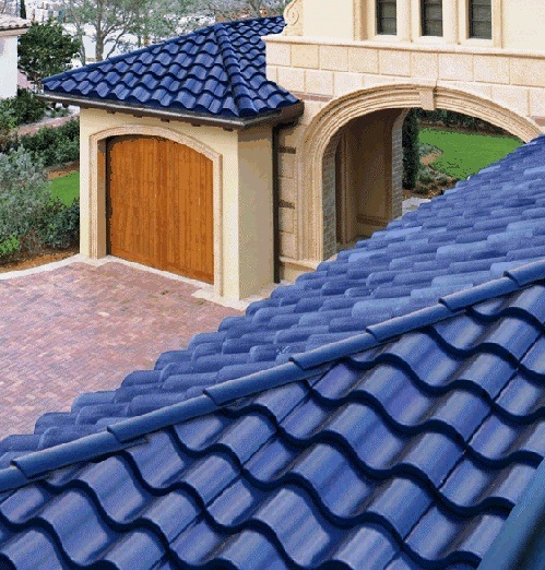 Roof tile mediterranean roof tile for Mediterranean roof styles