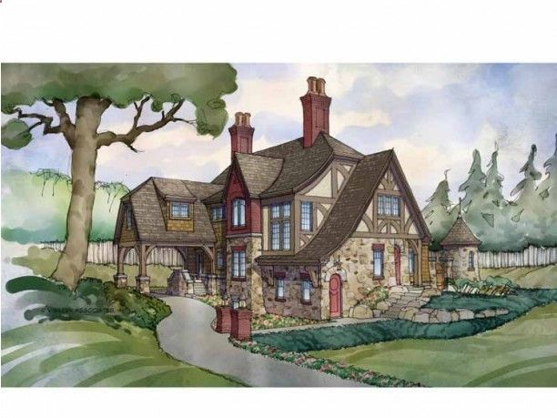 Tudor house Home Exteriors and Plans Pinterest