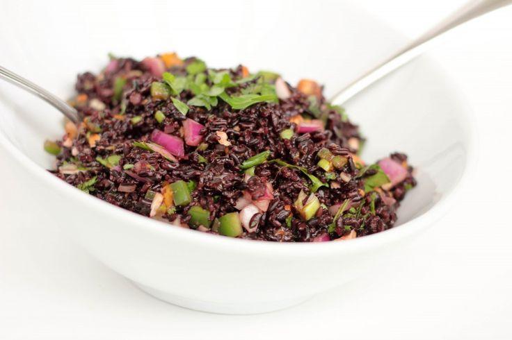 Black Rice and Mango Salad | Food - Salad | Pinterest