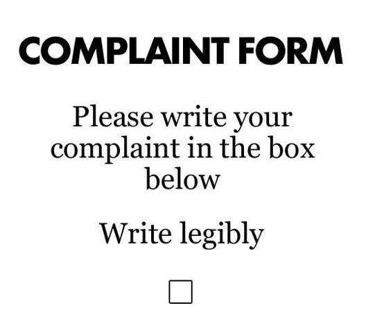 Foru complaints