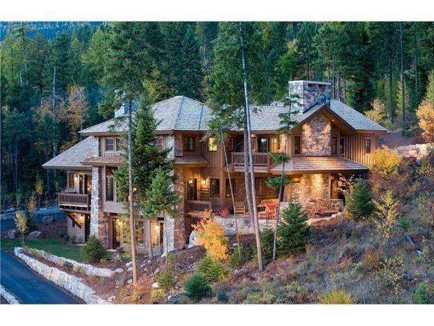 Whitefish Montana homesextravagant homes Pinterest