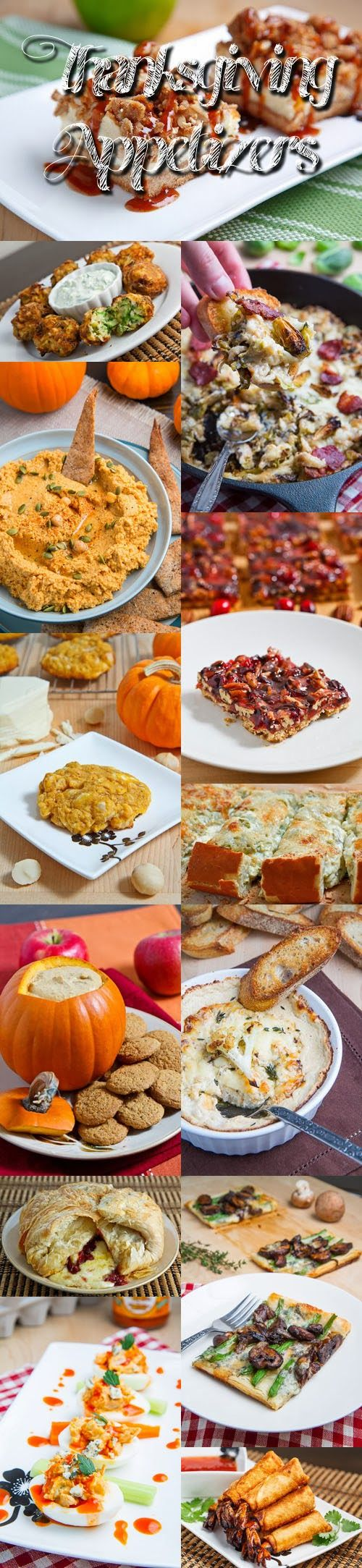 Thanksgiving appetizer recipes the appetizers or hors d oeuvres