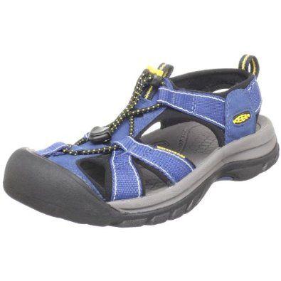 KEEN keen women's Sandals water shoes Venice H2 WMNS Venice Atto Womens MINERAL BLUE/GREEN GLOW (1012242 SS15