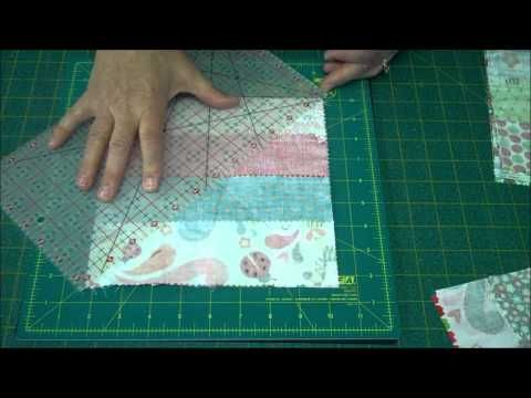 This absolutely the easiest and cutest quilt. You have to watch this video and you will want to make one too. Great for a quick baby quilt.