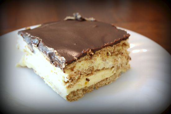 Eclair Cake | Me and My Tadpole-Recipes | Pinterest