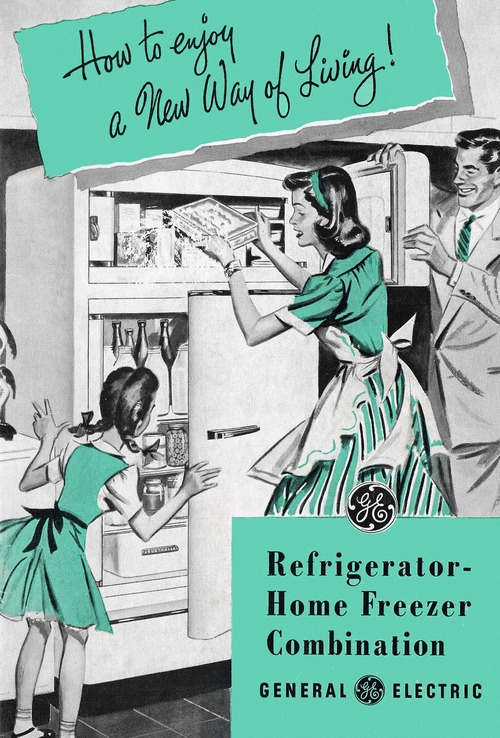 How to enjoy a New Way of Living! #vintage #kitchens #appliances #homemaker #family