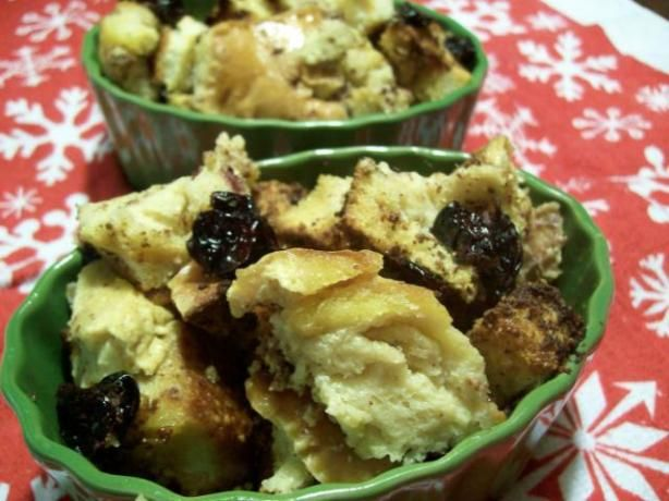 Bread Pudding for 2 from Food.com: This is a great low-sugar, low-fat ...
