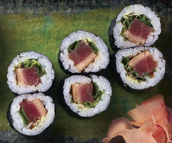 Seared Tuna Sushi Rolls | Recipe