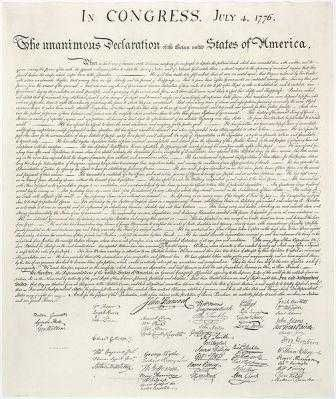 declaration of independence activities