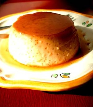 Pudim flan (Orange Blossom Flan) | Orange Blossom | Pinterest
