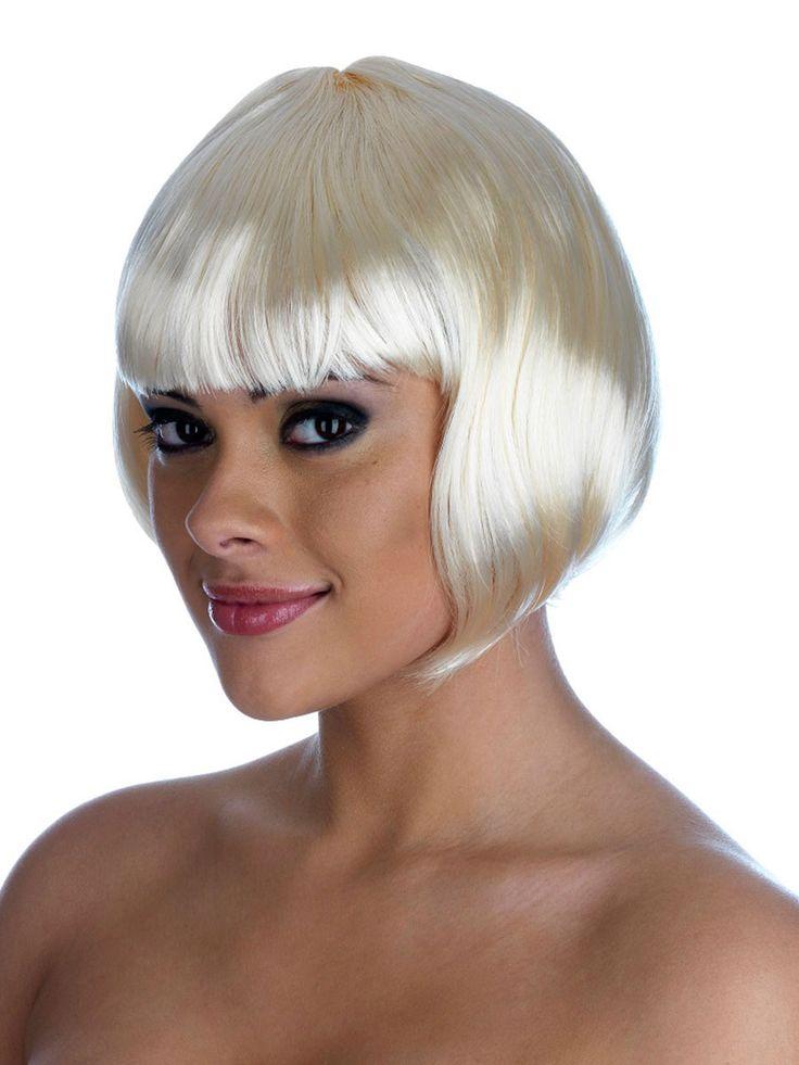 short silver bob wigs | WiGs BeAuTy @.@ | Pinterest