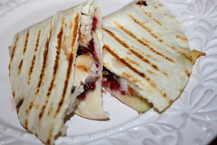 amazing turkey apple amp swiss quesadillas recipe # recipe # grilling ...