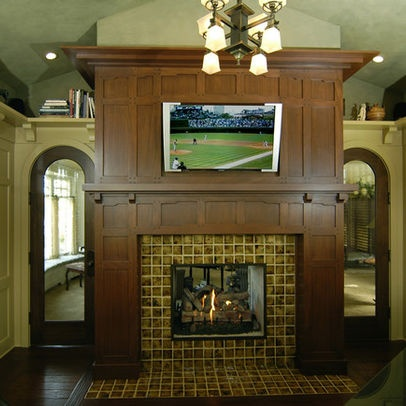 Craftsman Style Mantel Google Search For Our Craftsman