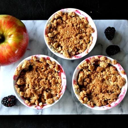 Apple Blackberry Cobbler   Desserts First   Pinterest
