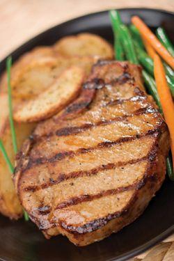 Honey Mustard BBQ Pork Chops | FoOd & DrinKs | Pinterest