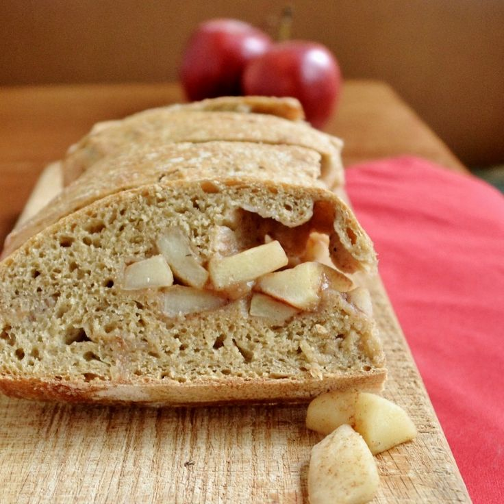Apple Pie Bread -- a fun way to eat dessert for breakfast!