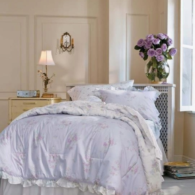 Shabby chic bedding from target bedroom makeover pinterest for Shabby chic bedspreads comforters