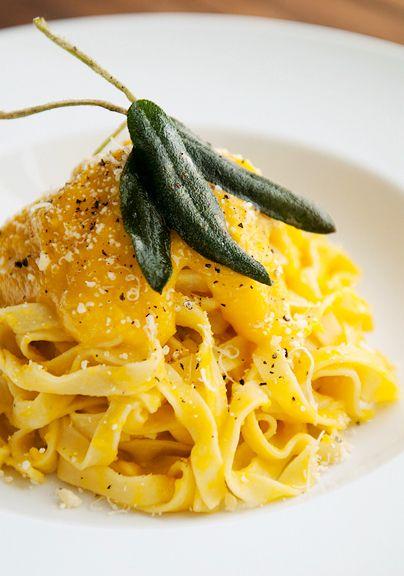 ... Deconstructed butternut squash ravioli! #Butternut_Squash_Sauce #Pasta