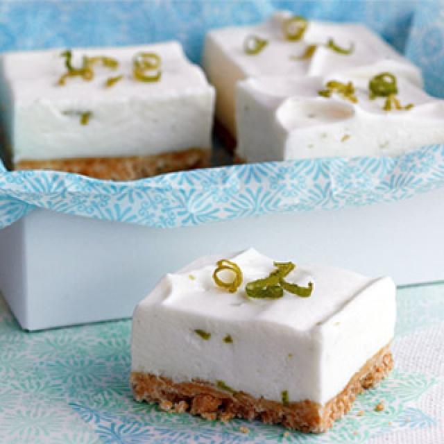 Key Lime Bars with macadamia nut crust | Yum. Good Food | Pinterest