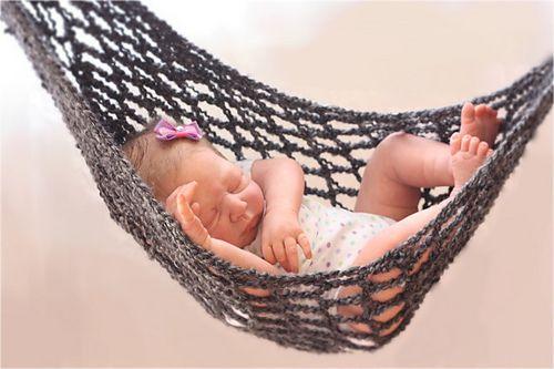 Crochet Pattern For Baby Hammock : Hammock Baby Photo Prop Crochet Pattern pattern by ...