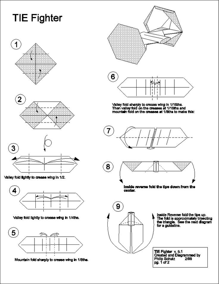 Как из бумаги сделать орла