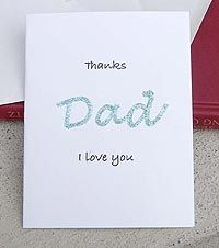 father's day card easy