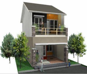 desain rumah minimalis 2 lantai type 45 minimalist home