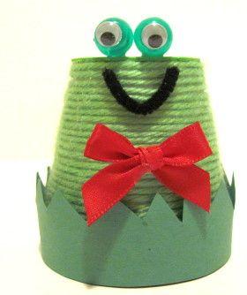 terra cotta frog crafty things for kids pinterest